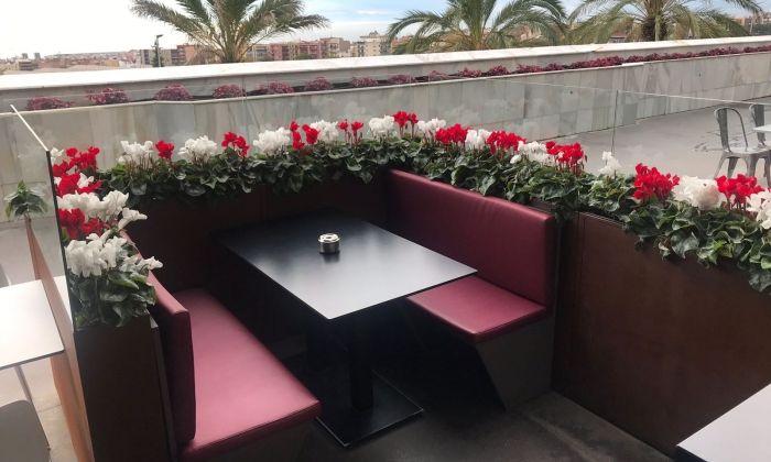 Un dels treballs florals de l'empresa