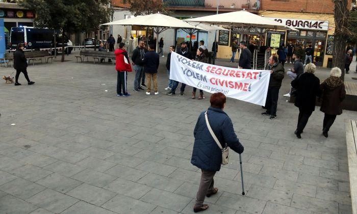 La manifestació. Foto: ACN