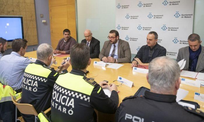 Un instant de la Junta local de Seguretat. Foto: R.Gallofré