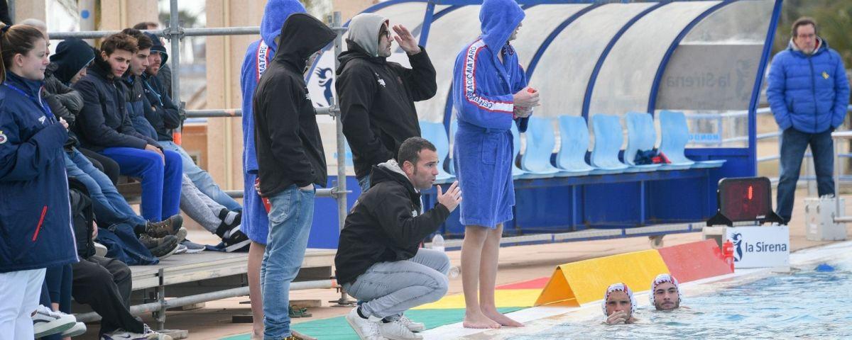 Beto Fernández, entrenador del Quadis Mataró.