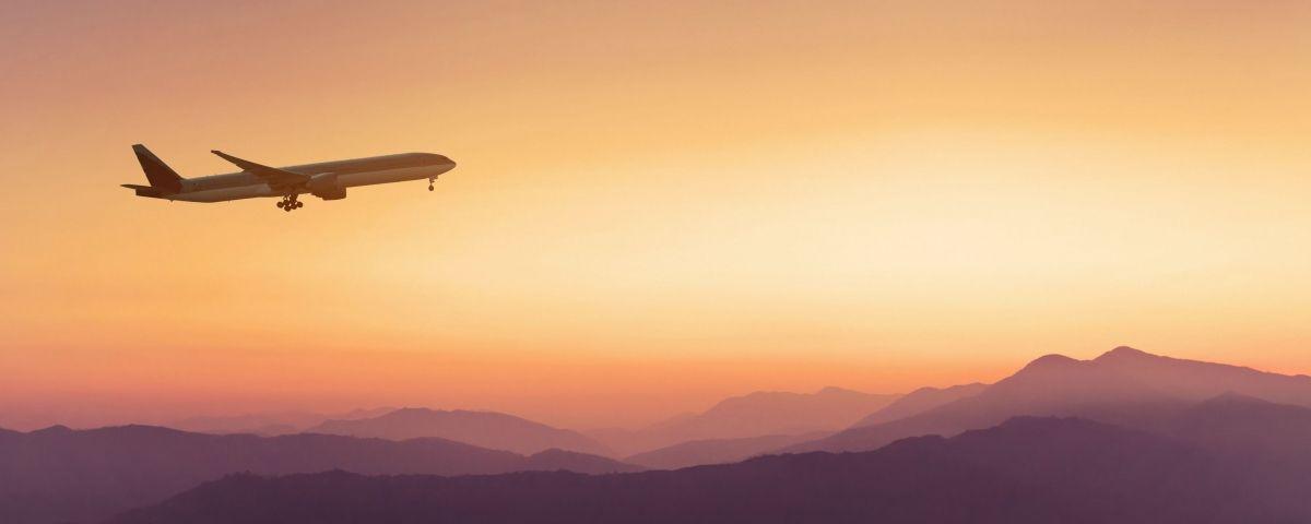 Imatge d'arxiu d'un avió