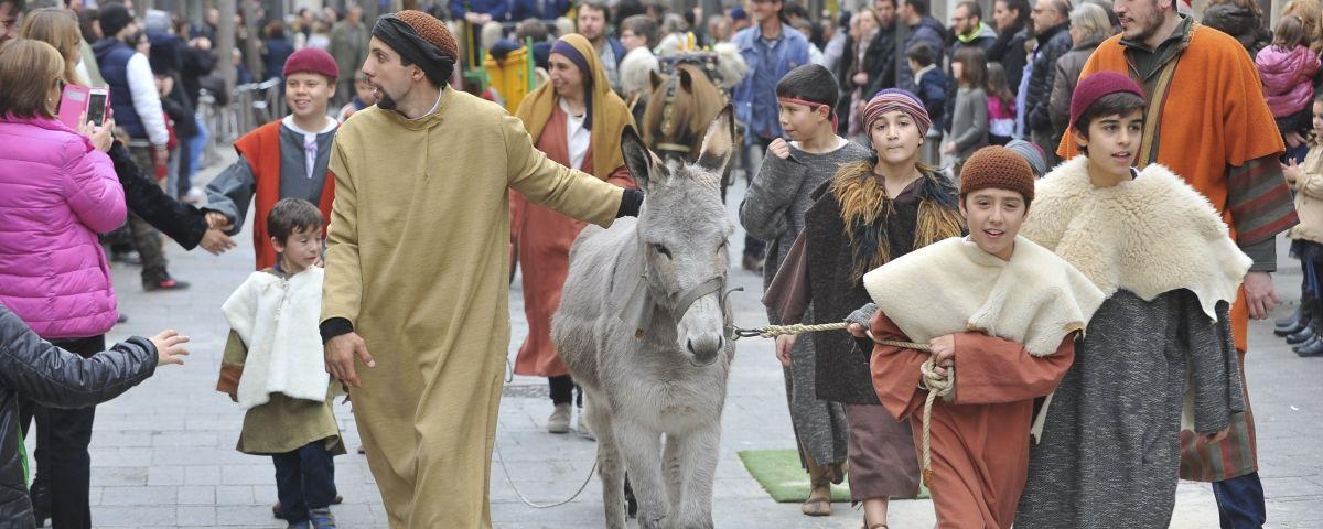 Els tradicionals Tres Tombs tornen als carrers de Mataró