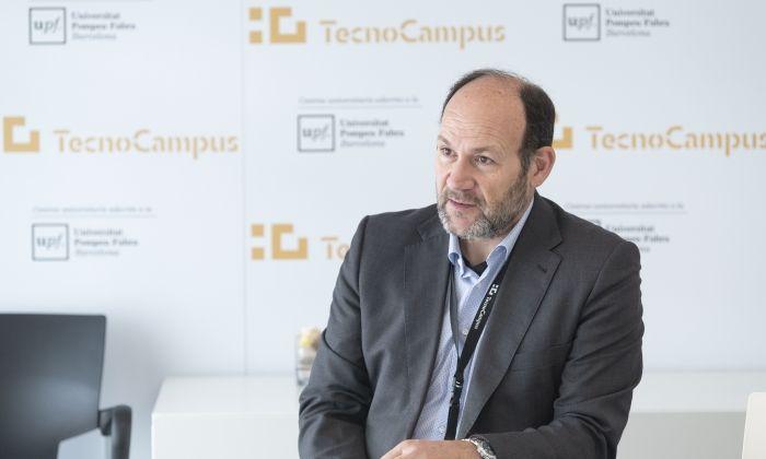 Josep Lluís Checa, director del TecnoCampus. Foto: R. G.