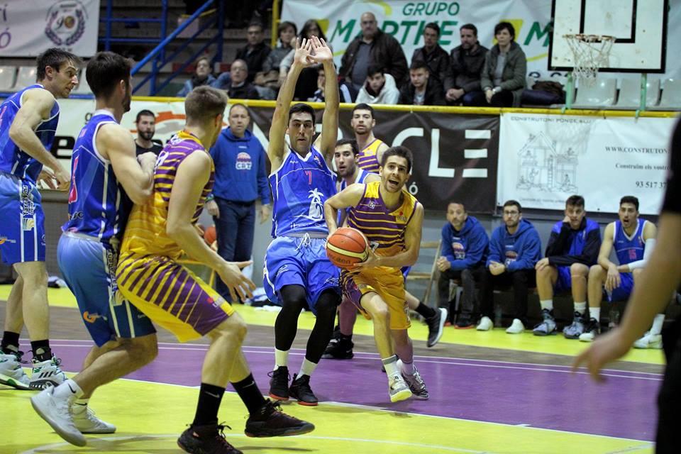 Un partit del Mataró Feimat d'aquesta temporada. Foto: Joan Ventura