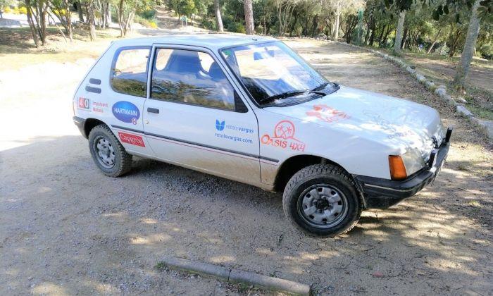 El vehicle amb el que competiran.