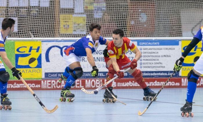 Un partit del CH Mataró aquesta temporada.