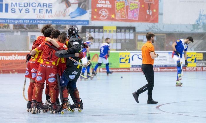 El CH Mataró torna a perdre. Foto: R.Gallofré