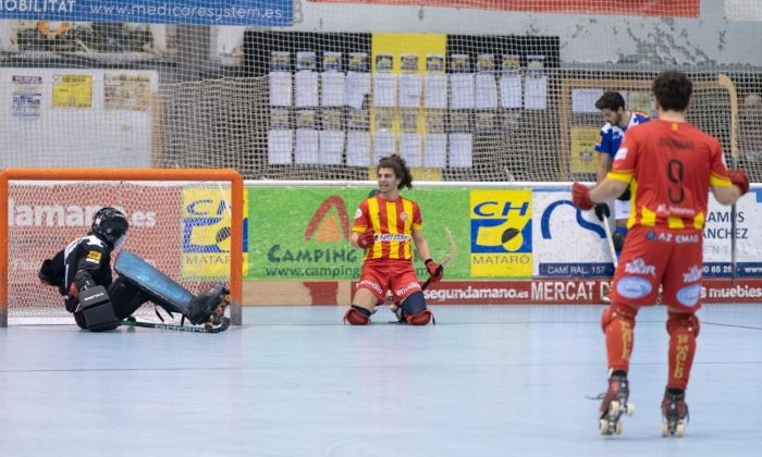 Un partit del CH Mataró d'aquesta temporada.