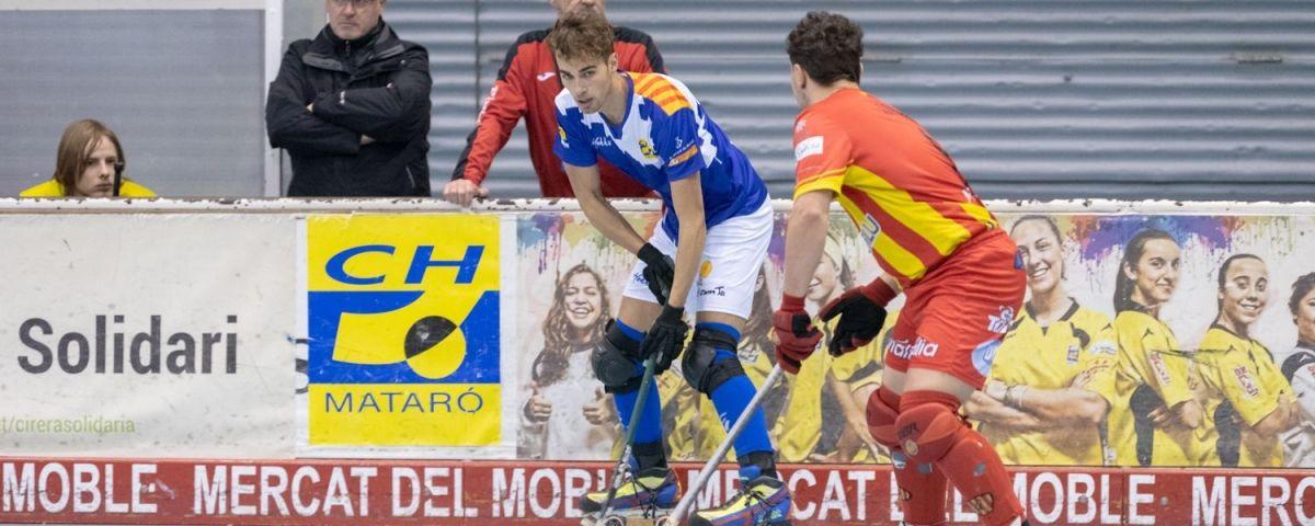 Un partit del CH Mataró.