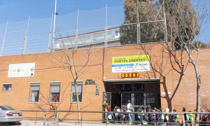 Vista de l'escola El Turó