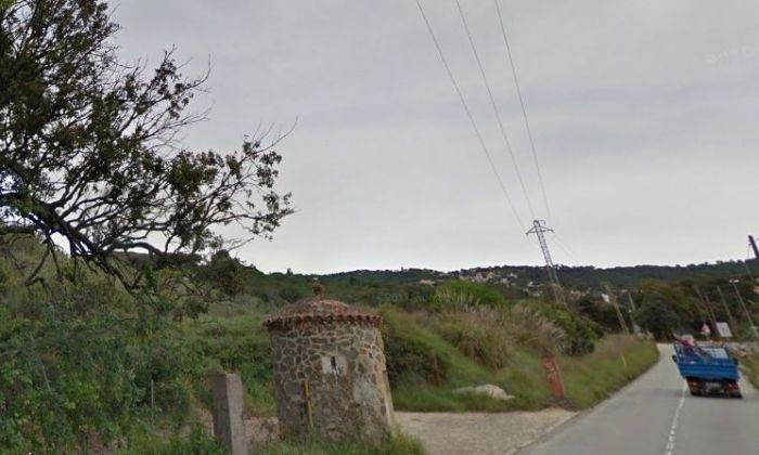 La carretera de Valldeix. Foto: Google Maps