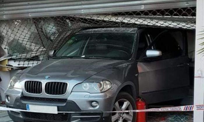 El cotxe utilitzat en l'allunatge. Foto: EP / Cerdanyola Directo