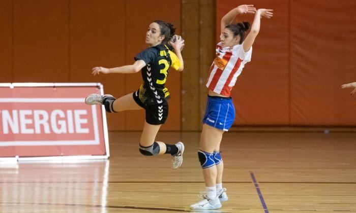 Handbol femení JH Mataró - Sant Joan Despí. Foto: R.Gallofré