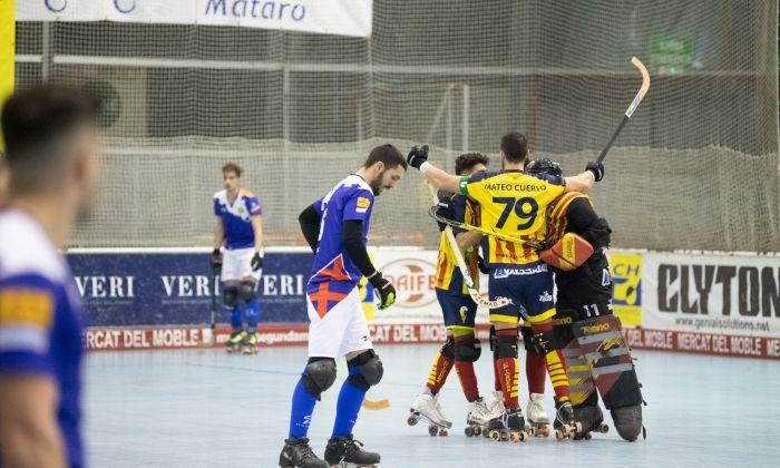 Hoquei HC Mataró - CP Tordera. Foto: R.Gallofré