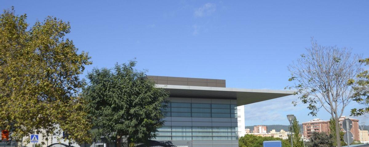 La seu de Bankia, avui abandonada. Foto: R. G.
