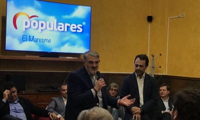 Imatge de la presentació de la candidatura de José Manuel López.