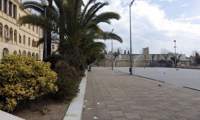 Exteriors de l'escola. Foto: valldemia.maristes.cat