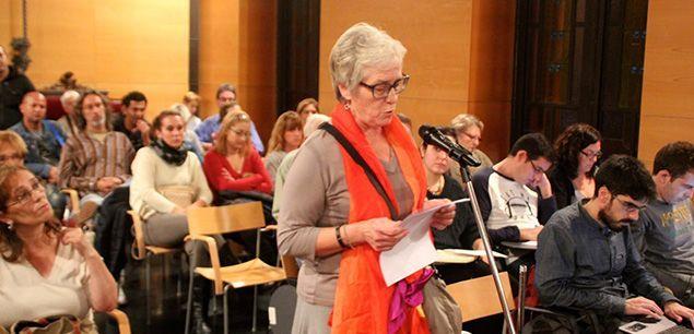 Una intervenció ciutadana al Ple municipal