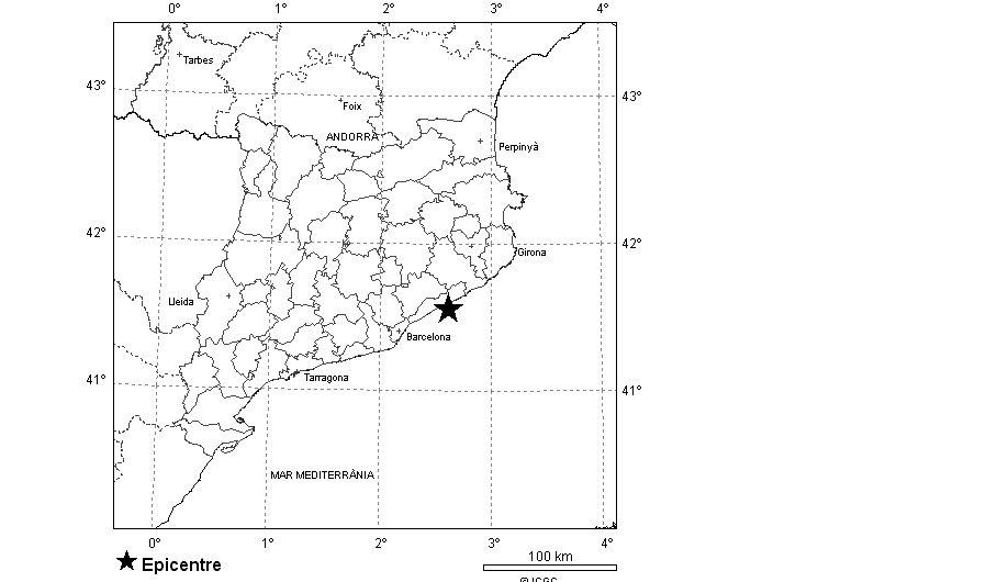 mapa de l'Institut Cartogràfic