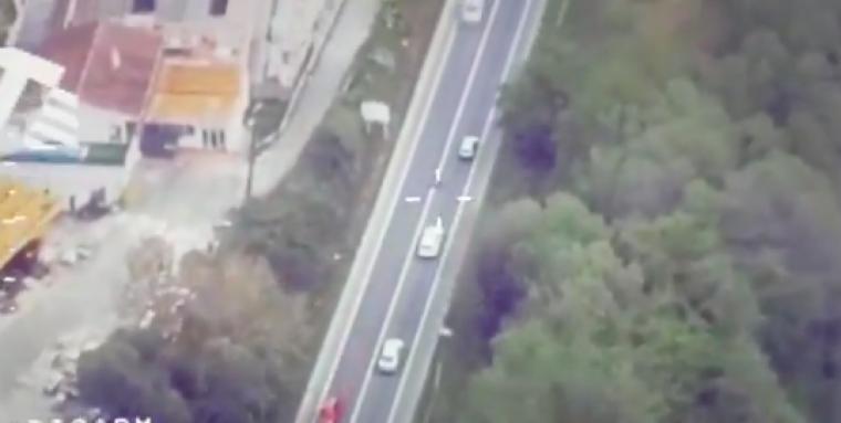 Captura del vídeo difós pel Servei Català de Trànsit