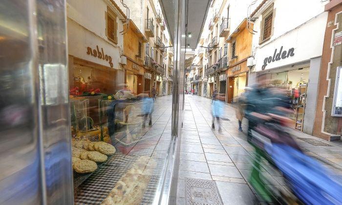 El carrer Barcelona. Foto: R. G.