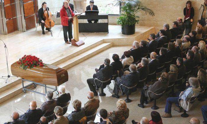 Funeral al Tanatori de Mataró