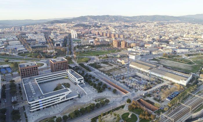 Vista del TecnoCampus, far econòmic i educatiu de la ciutat