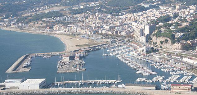 Vista aèria d'Arenys de Mar
