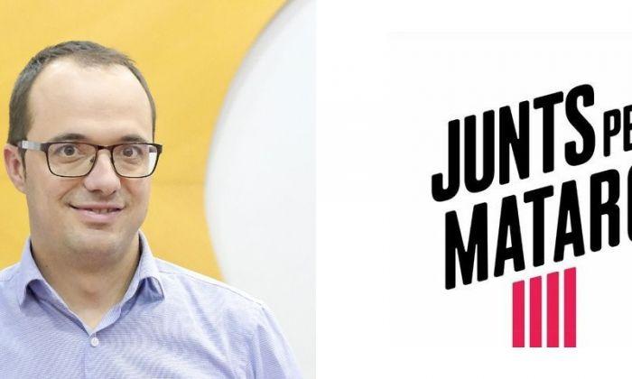Alfons Canela, candidat de Junts per Mataró