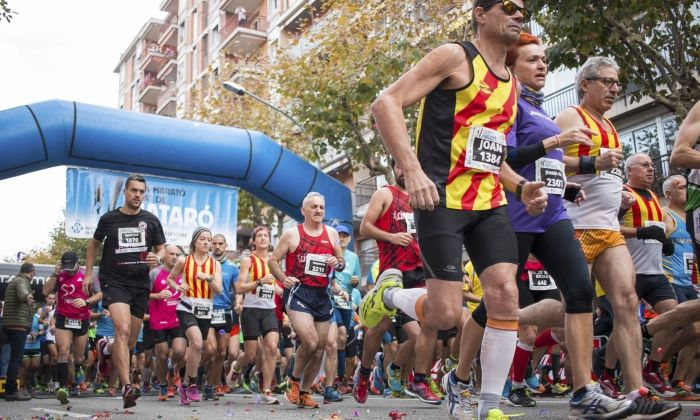 Una edició anterior de la Mitja Marató Ciutat de Mataró