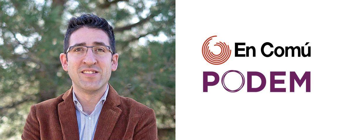 Sergi Morales, candidat d'En Comú Podem Mataró