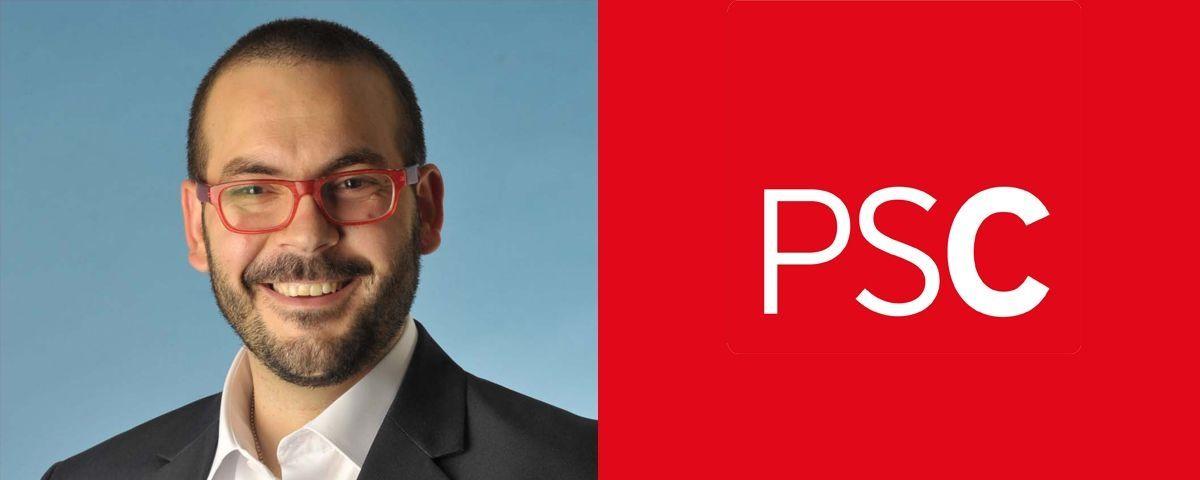 David Bote, candidat del PSC a Mataró