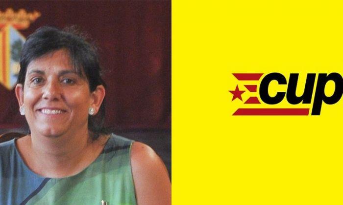 Carme Polvillo, candidata de la CUP a Mataró