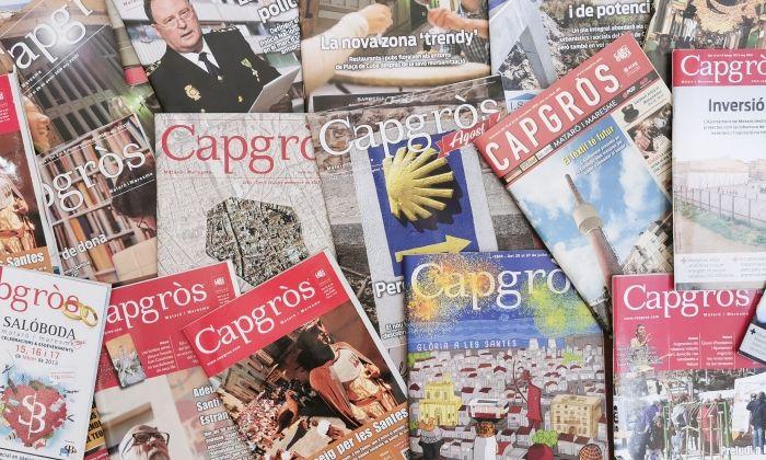 Revistes de totes les èpoques de Capgròs