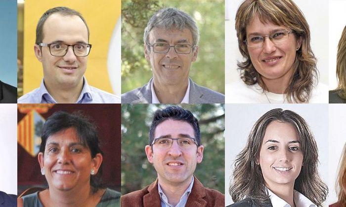 Els 10 candidats i candidates a l'alcaldia de Mataró.