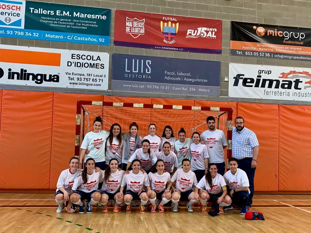 Les campiones del Futsal.