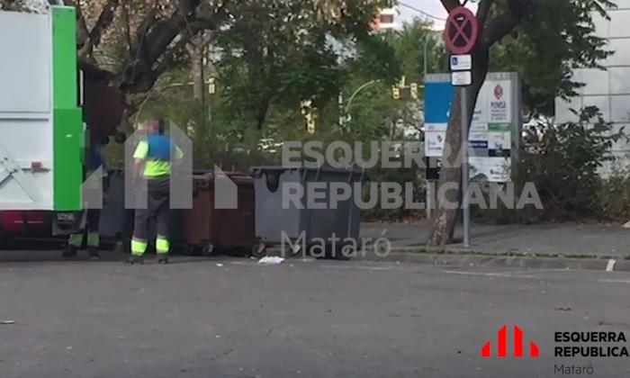 Un fragment del vídeo fet públic per ERC