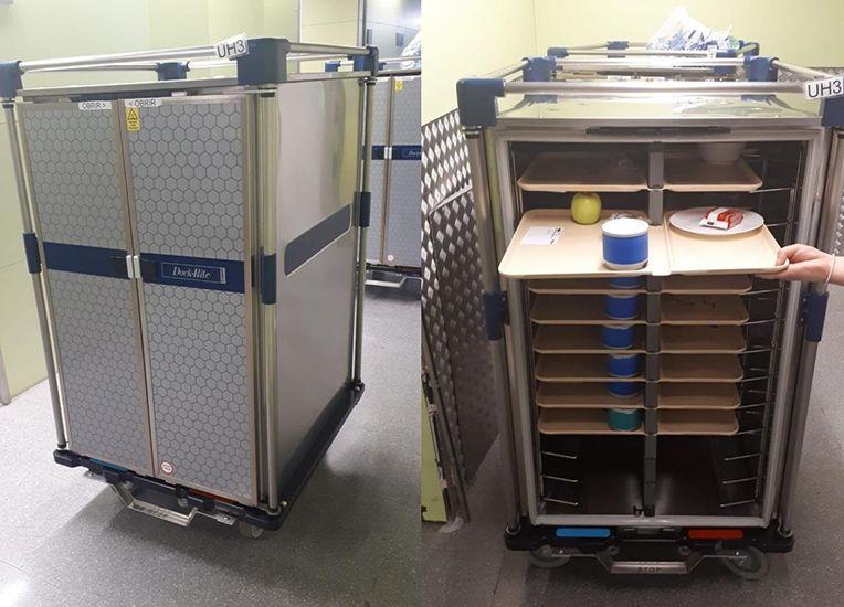Els nous carros de menjar de l'Hospital