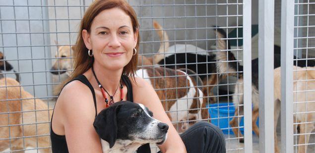 Sílvia Serra, directora de la SPAM, a les instal·lacions del carrer Galícia