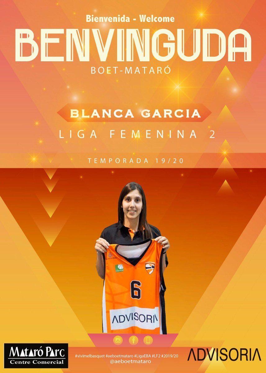 Blanca Garcia. Foto: AE Boet