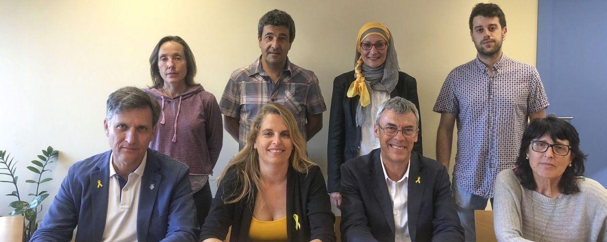 Els regidors d'ERC a Mataró