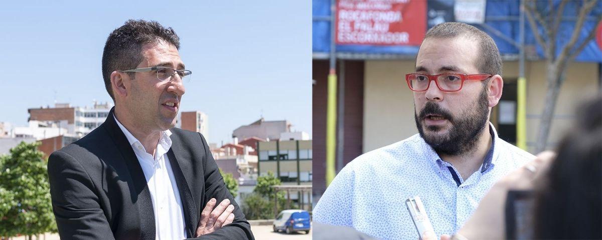 Sergi Morales i David Bote. Foto: R.Gallofré