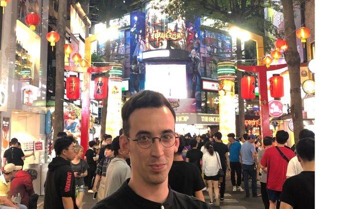 David Vivó, a Taipei