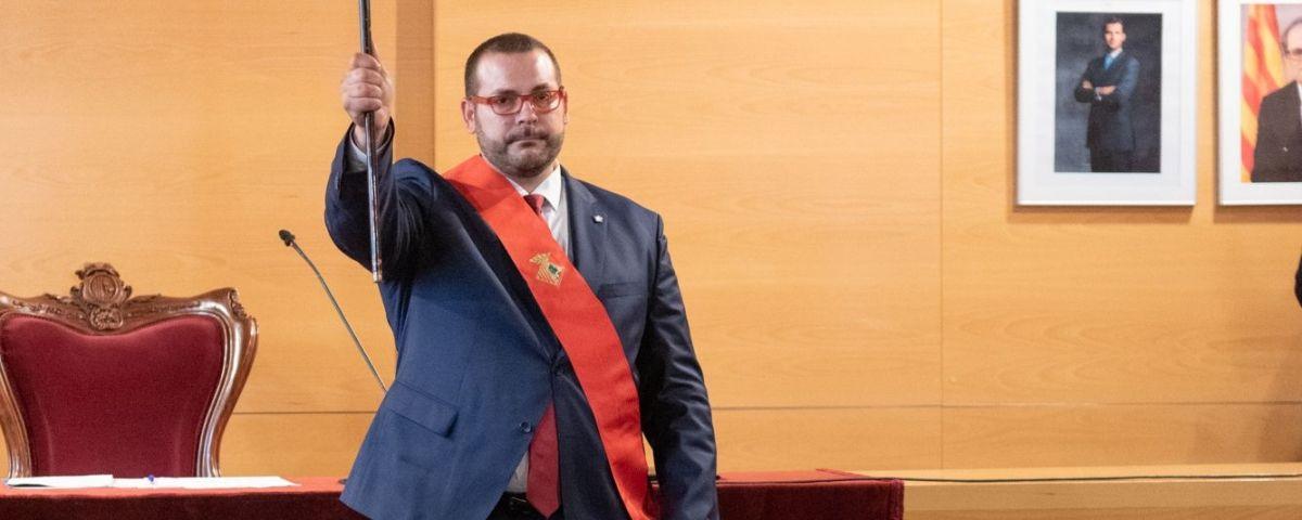 L'alcalde David Bote. Foto: R.Gallofré