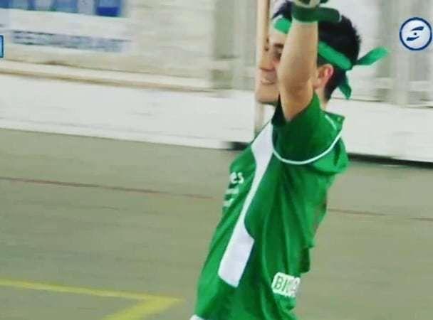 Eric Gual jugava al Vilanova. Foto: CH Mataró.