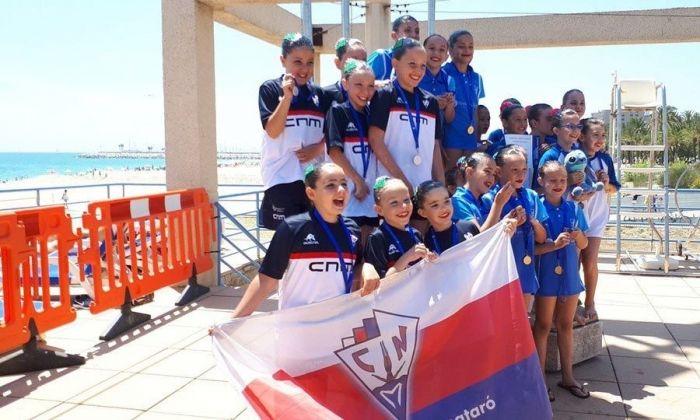 El Centre Natació Mataró va ser l'escenari del campionat. Foto: CN Mataró.