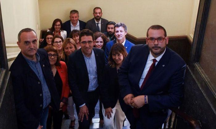 Els membres del govern. Foto: Ajuntament