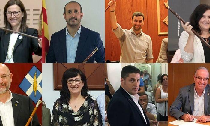 Els alclades d'Arenys de Mar, Vilassar de Mar, Argentona, Caldes d'Estrac, Llavaneres, Dosrius, St. Vicenç de Montalt i Cabrera