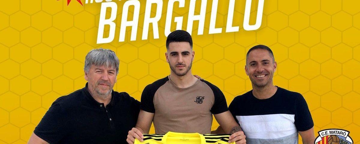 'Barga' vol ser l'home gol del Mataró. Foto: CE Mataró.