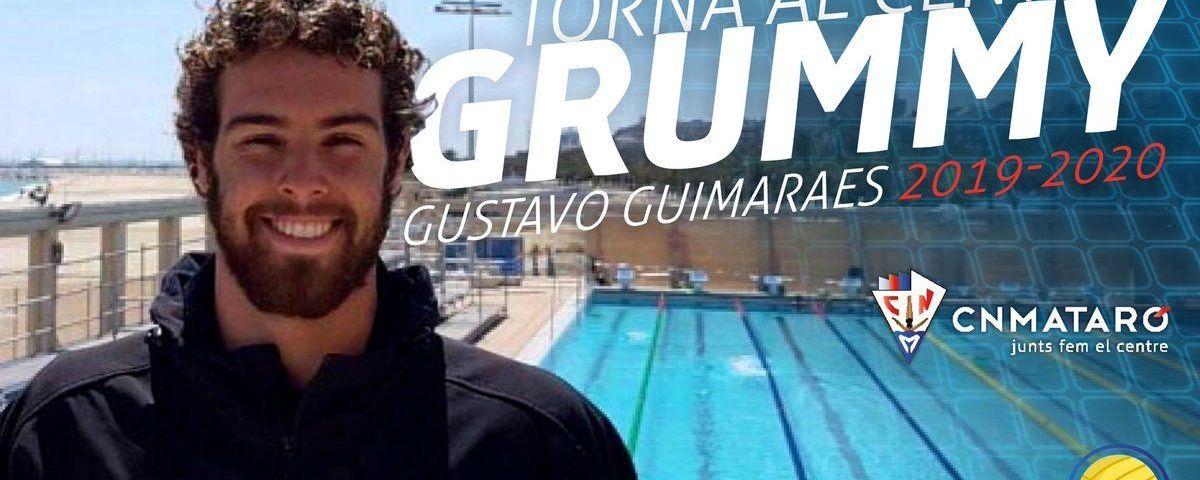 'Grummy', reforç de nivell pel Quadis. Foto: CN Mataró.